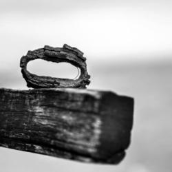 anneau de chaine rouillé