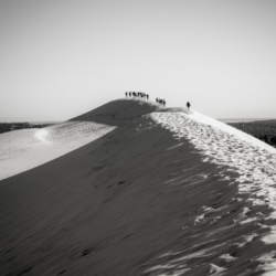 ascension de la dune