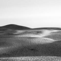 sommet dune du pyla en noir et blanc , bassin arcachon, krystyne ramon