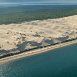 dune du pyla, aquitaine, vu d'avion, bassin d'arcachon, krystyne ramon