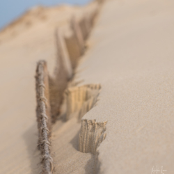 petite, failaise de sable